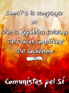 Cartell de Comunistes Pel Sí